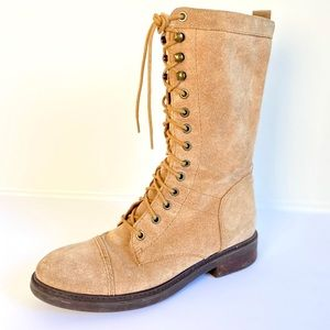 Nine West Gunner Lace Up Ankle Boot